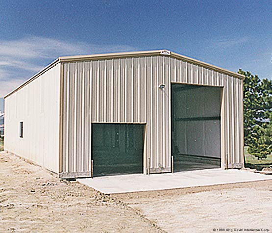 Steel buildings farm sheds to live in and garages a for Garages to live in