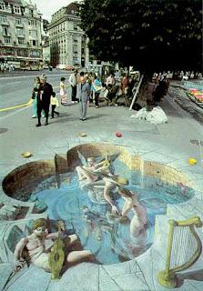 Photo-photo Street Painting
