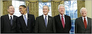 5 Presidents: Bush, Obama, Bush Jr, Clinton, & Carter!