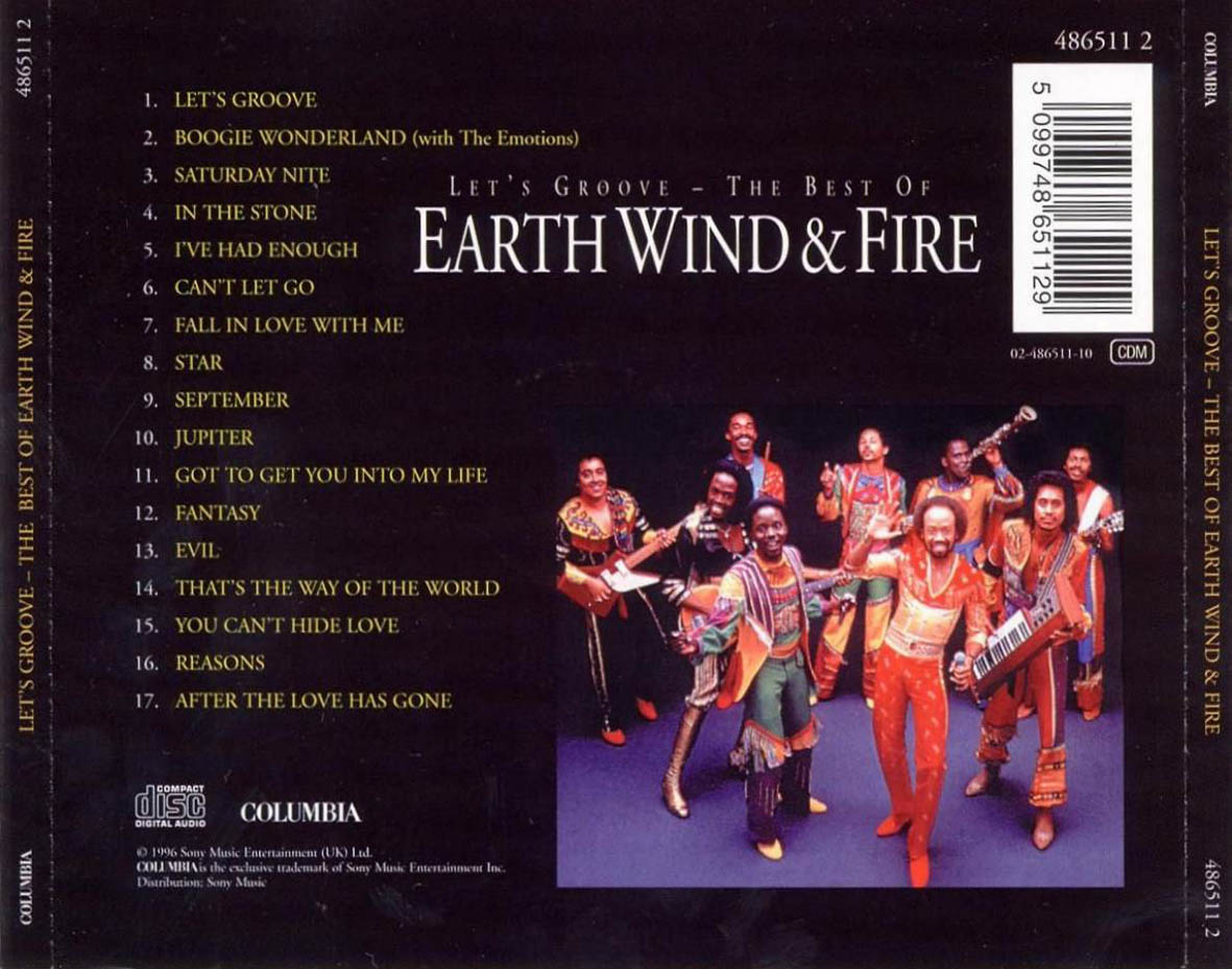 best of earth wind and fire pdf