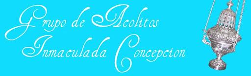Acólitos Inmaculada Concepción