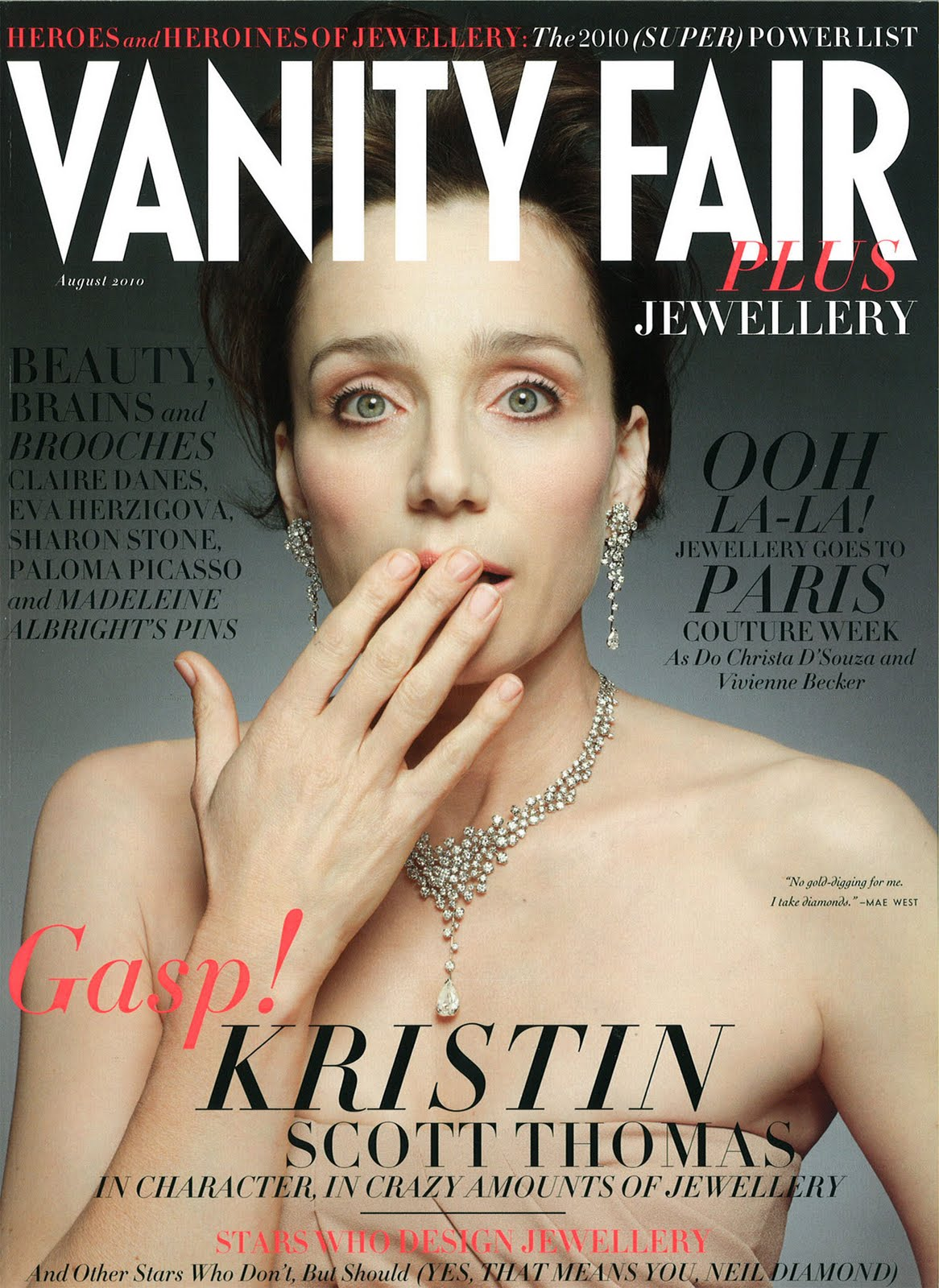 says vanity fair covers