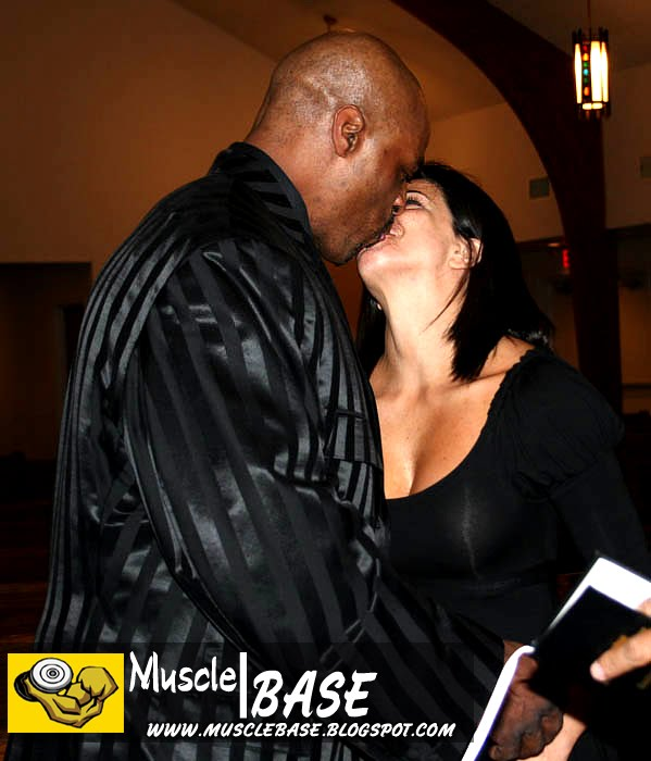 Ronnie coleman and his wife