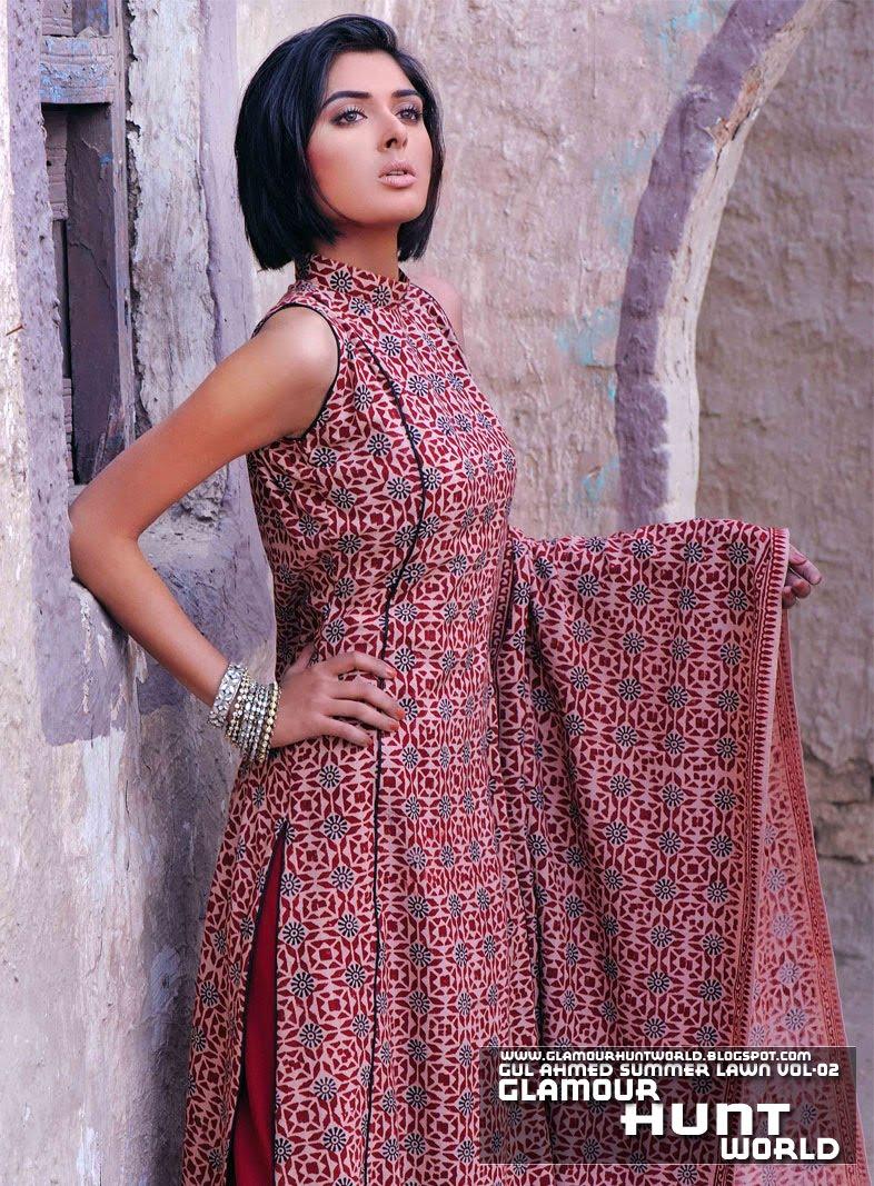 | Gul Ahmed Magazine Vol: 02 | Gul Ahmed Lawn Latest Variety 2010-11