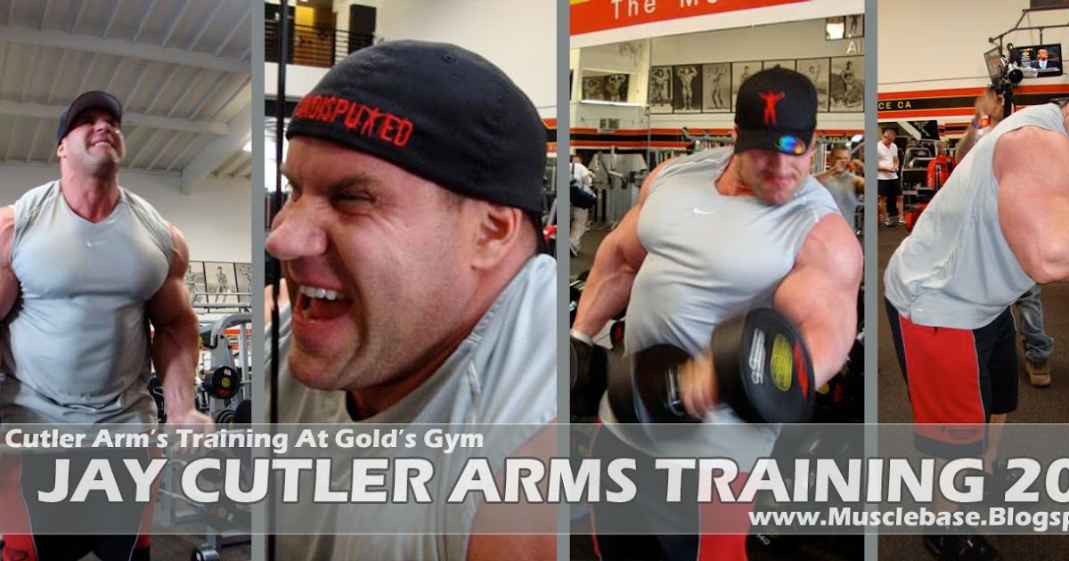 Jay Cutler Killer Arms Training 2011 | Jay Cutler Back At Golds Gym In ...