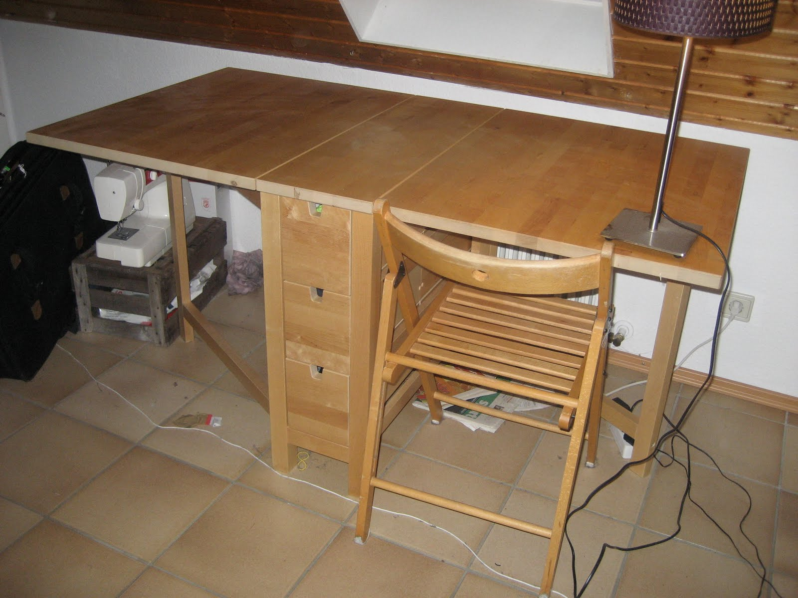 Delicieux Ikea Norden Folding Table U20ac100   SOLD