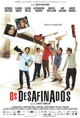 Filme Poster Os Desafinados DVDRip XviD & RMVB Nacional