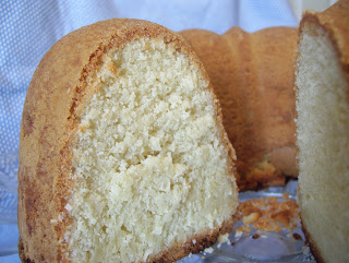 The Love Family of 5: I'm back with a Coconut Cream Cheese Pound Cake!