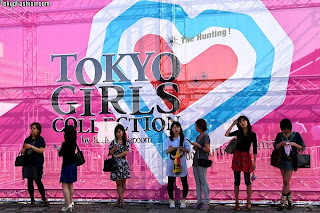 Tokyo girls collection logo @something borrowed something new