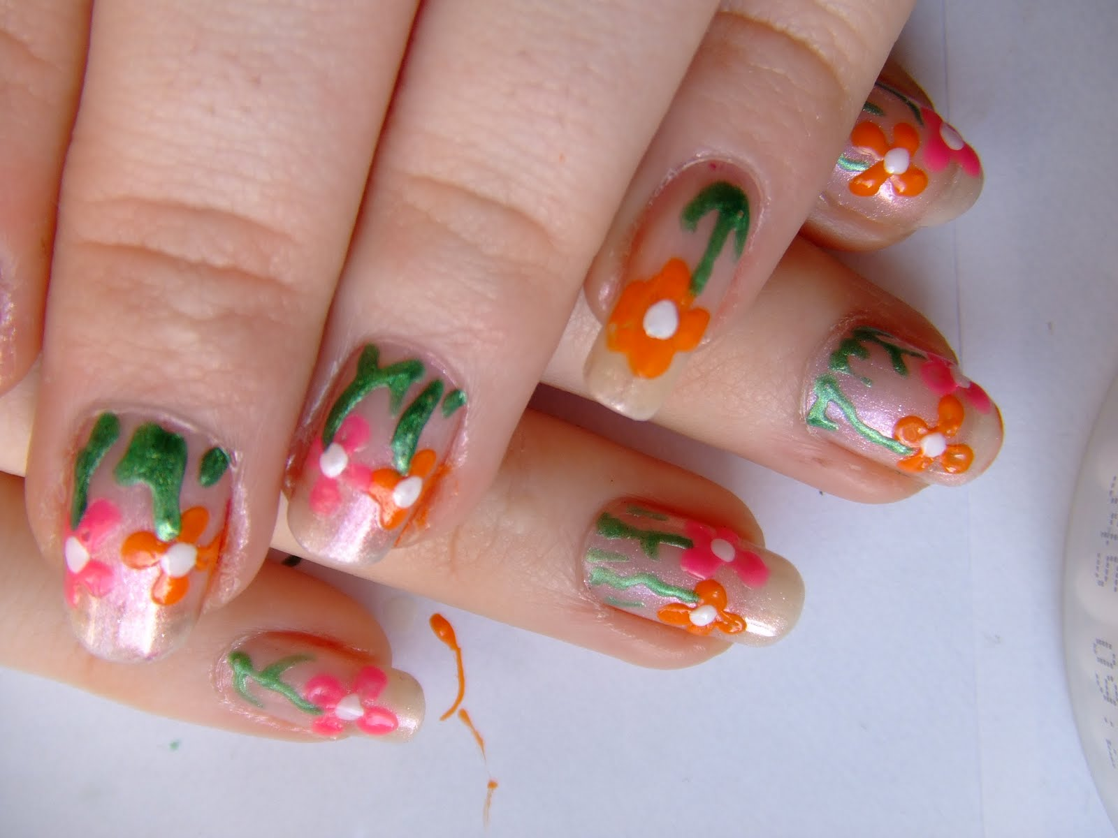 Spring Acrylic Nail Designs