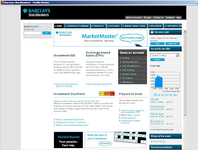 Barclays Stock Broker - Www.stockbrokers.barclays.co.uk