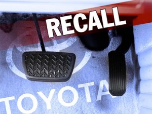 Toyota Recall January 2010 - Toyota Recall List