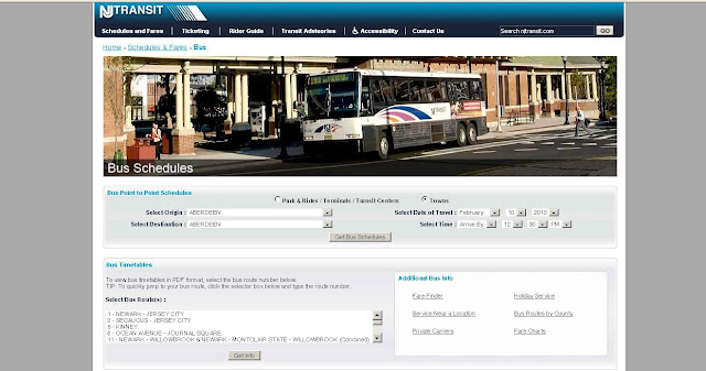 NJT Bus Timetable - New Jersey Transit Bus Schedule - www.njtransit.com
