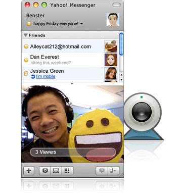 Free Download Yahoo! Messenger 10 for Mac 2010 from Apple.com