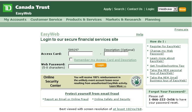 Forex internet bank login