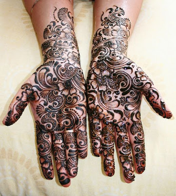 Latest Bridal Mehndi Designs for Hands