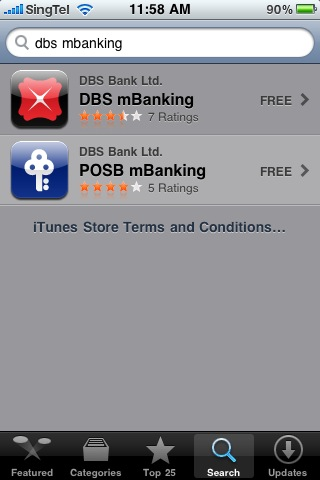 how to change password in dbs ibanking