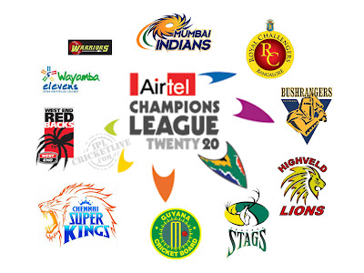 Airtel CLT20 2010 Ranking & Point table for Players & Teams
