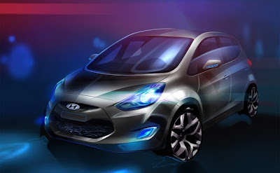 New Hyundai ix20 Unveiled : Specs & Photos
