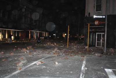 Strong Earthquake of 7.1 Magnitude In New Zealand