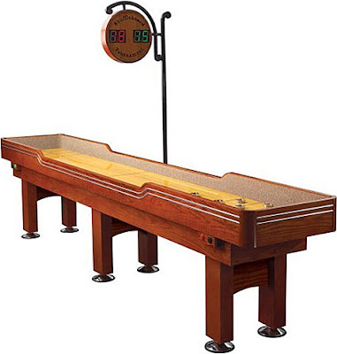 How to Play Table Shuffleboard Game?