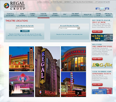 Regal Cinemas Locations & Show Times