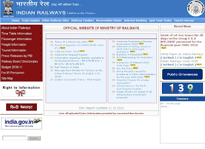 Indian Railways Online Ticket Booking Methods & Sites