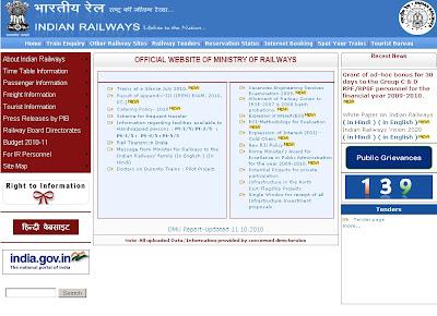 Indian Railways Online Ticket Booking Methods & Sites