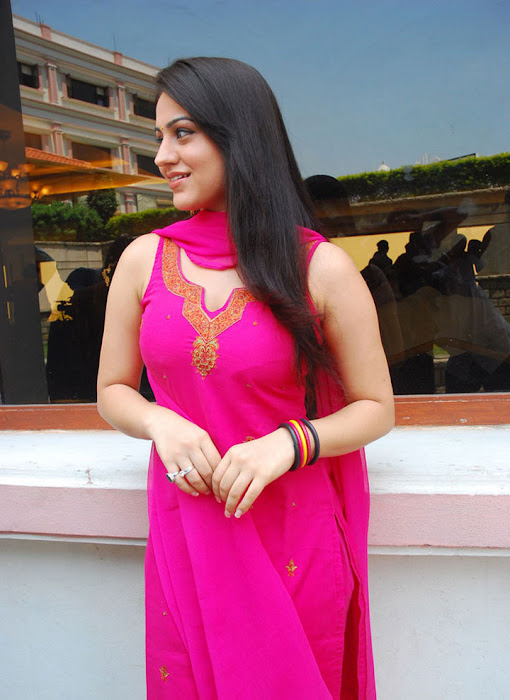 aksha in test pink dress aksha smooth lips latest photos