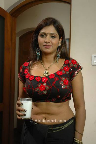 Boobs Blouse Hot Navel