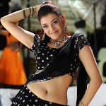 Kajal Agarwal Dance in Black Dress @ Darling Movie