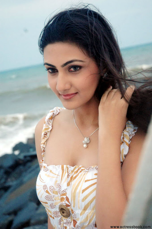 Neelam  South Telugu Cute Actress Sexy In Beach Stills sexy stills