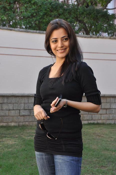 nisha agarwal new in charming black dress actress pics