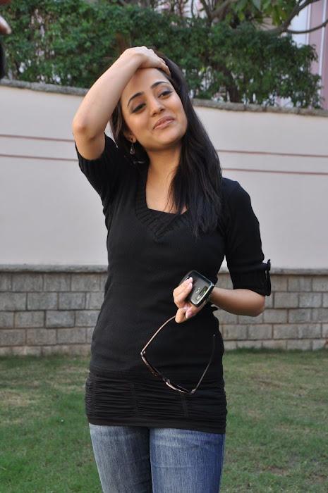 nisha agarwal new in charming black dress cute stills