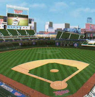 Computer Image of the New Target Field, home of the MN Twins