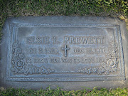 Tombstone Tuesday: Jerry and Elsie (George) Prewett
