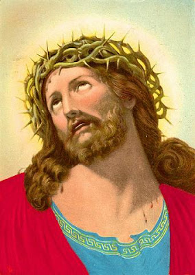 Jesus, looking fed up with commercial use of image