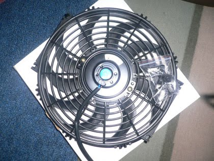 Performance n Slim radiator fan 12""