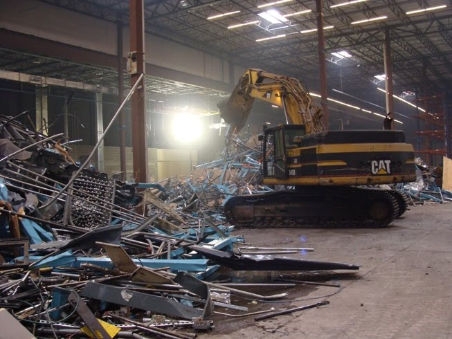 Universal Wrecking Corp Demolition News Blog Warehouse Mezzanine And Equipment Removals