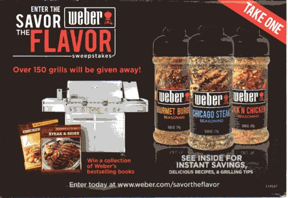 How to Use Weber Coupons Weber markets a line of high end grills, replacement parts and accessories. When promotional offers and coupons are available for their products, you will find them on the official Weber homepage.