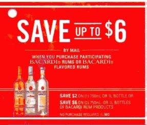 Discount coupons for casa bacardi