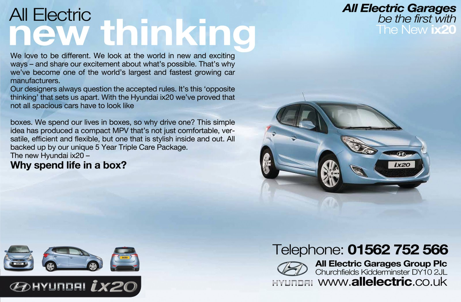 All Electric Cars Kidderminster