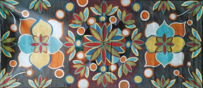 """Un vrai plaisir mais aussi un travail sur la couleur et la """"symétrie"""""""