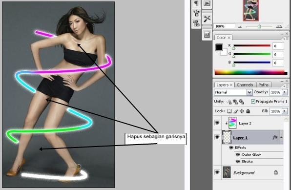 desain corel & photoshop (dian cyber )