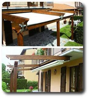 Tende materassi letti poltrone divani zilvetti tendaggi - Strutture mobili per terrazzi ...