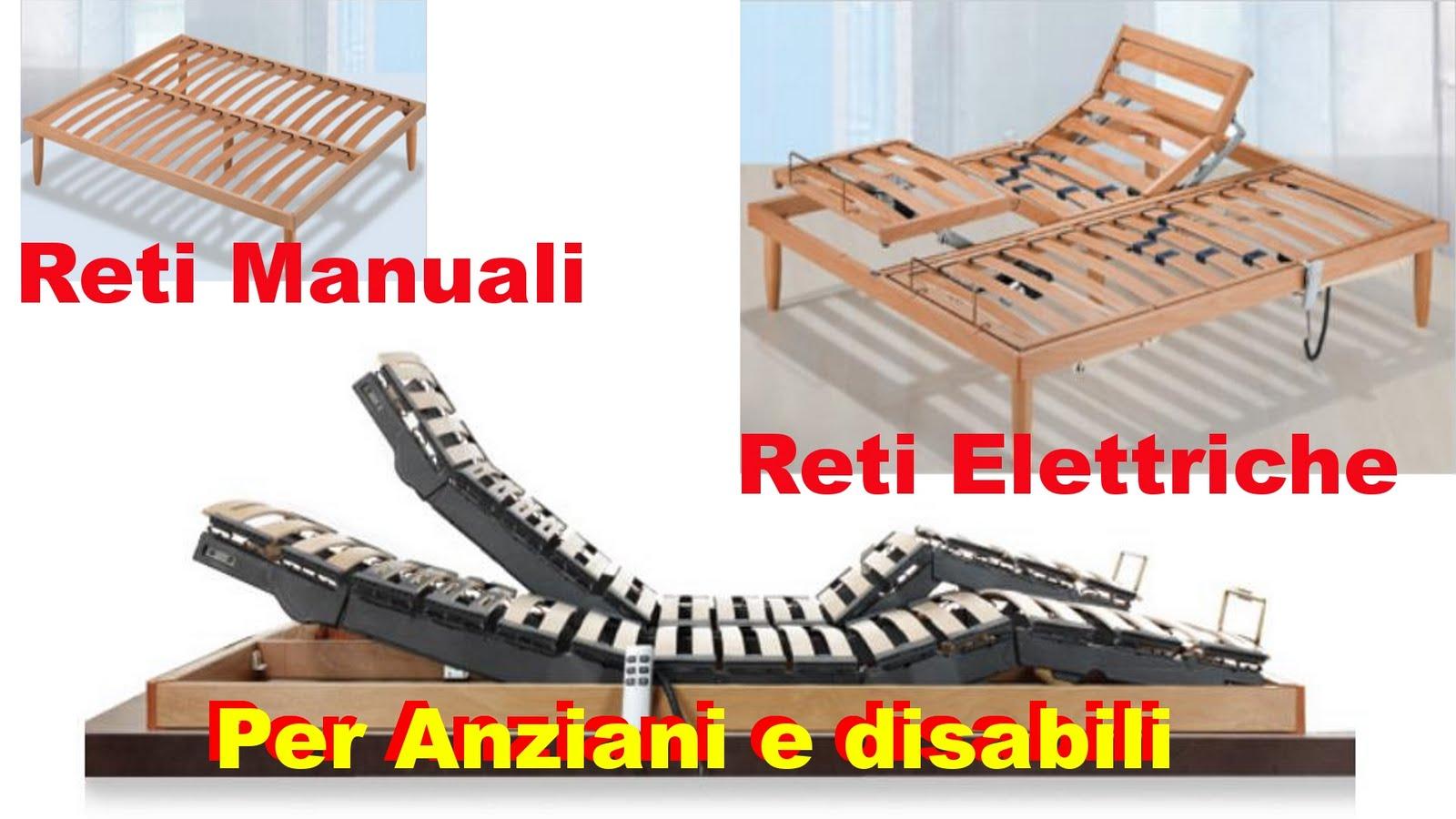 Tende materassi letti poltrone divani zilvetti tendaggi reti per materasso a doghe in legno o - Letto elettrico per disabili usato ...