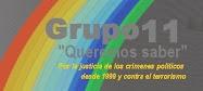 "El Grupo11 ""Queremos saber"","