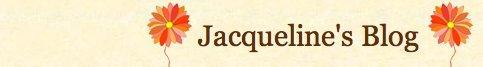 Jacqueline's Blog