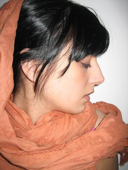 robe et foulard(H&M)