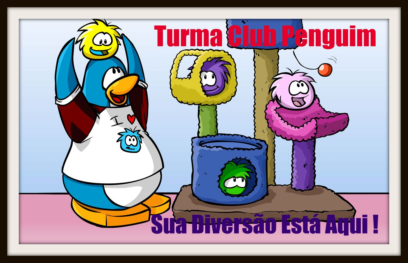 Turma Club Penguin